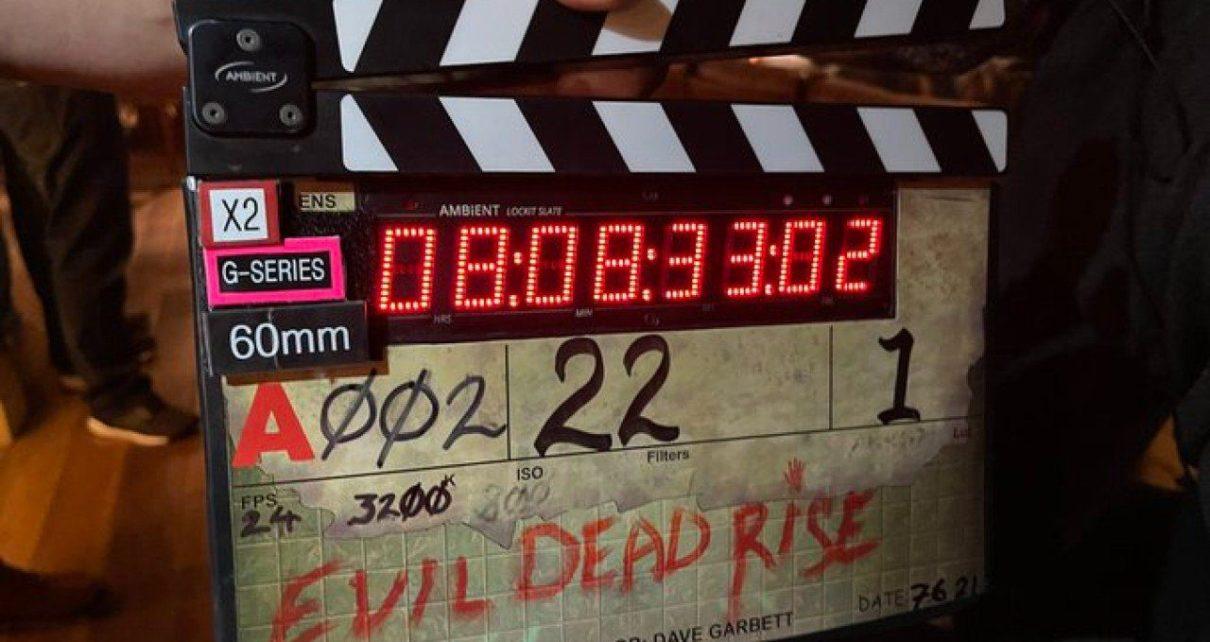 evil dead rise - produzione foto