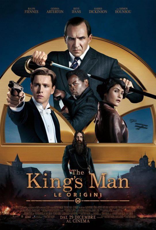 The King's Man - Le origini (poster)