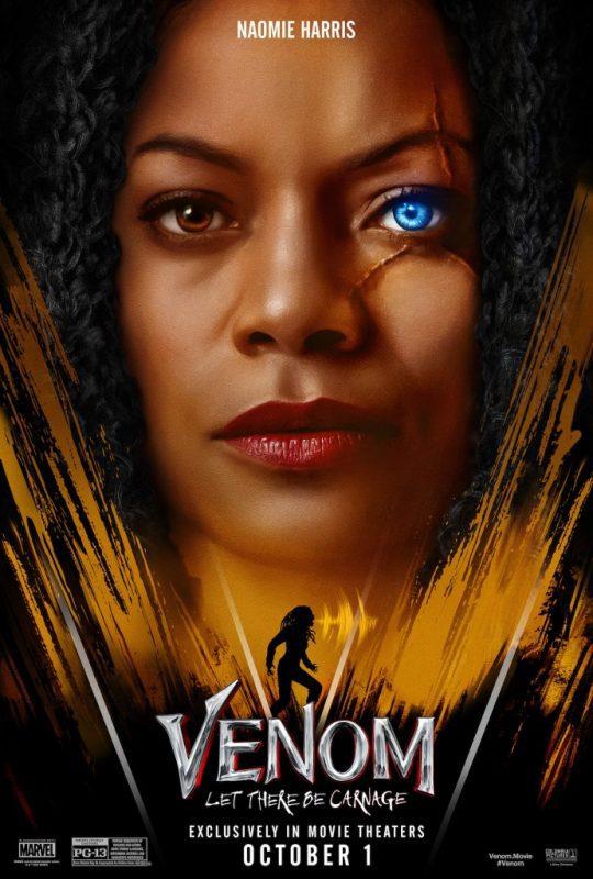 Anche She-Venom nei characters poster di Venom: La Furia di Carnage