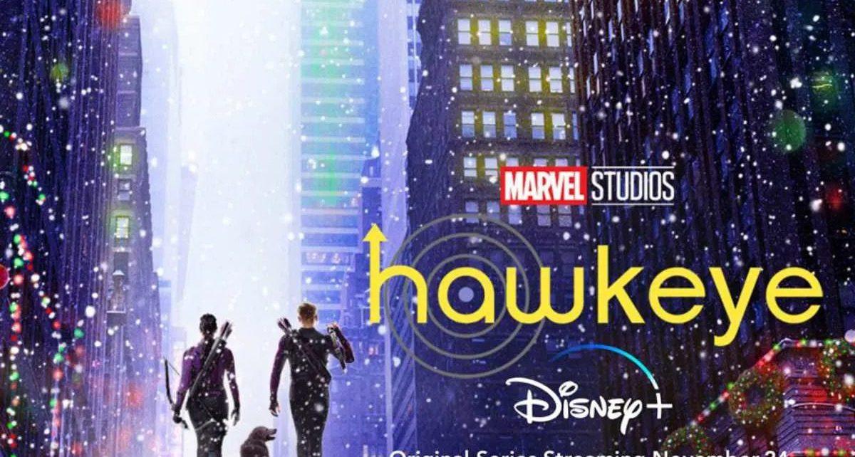 hawkeye serie tv poster