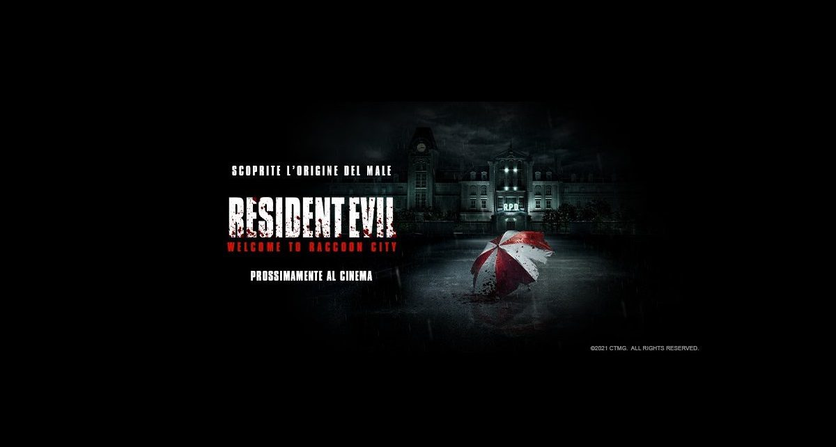 resident evil welcome to raccoon city poster ita
