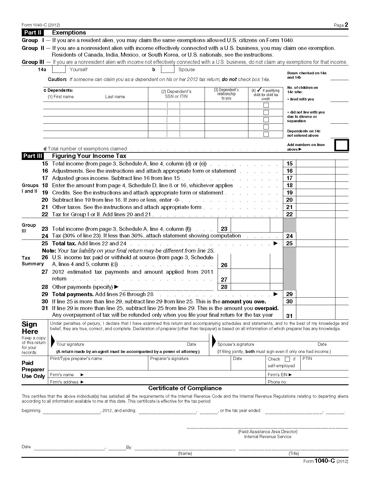 Ez Form Printable