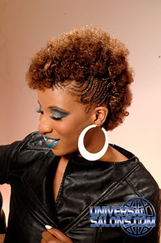 mohawk hair styles from rasheeda berry