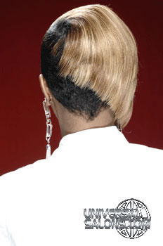 short hairstyle with highlights from antavia crawford
