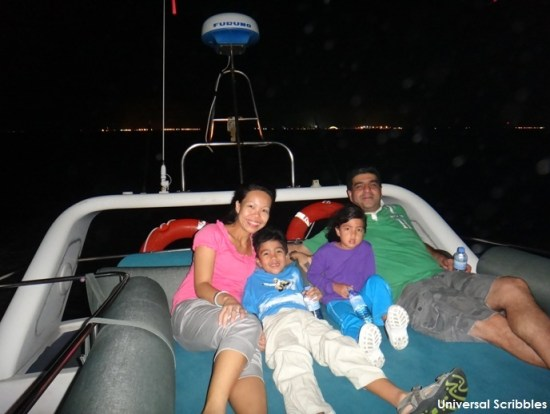 family vacation travelling with kids