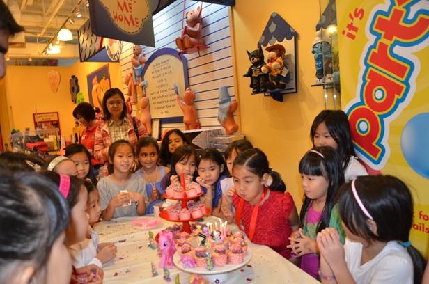 Birthday Party @ Build-A-Bear