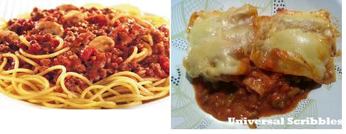 Pasta & Lasagne