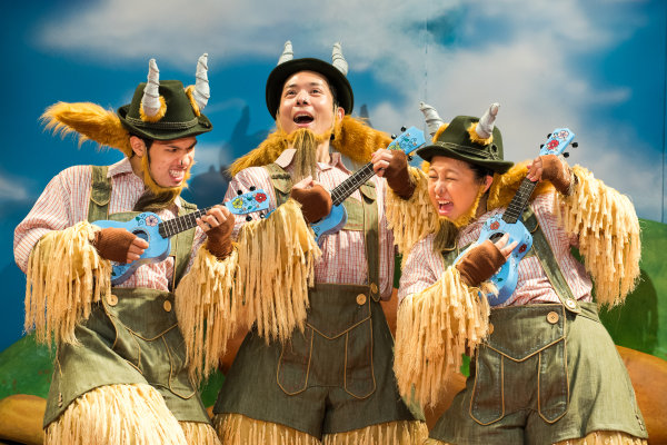 Plays For Kids: Three Billy Goats Gruff Review