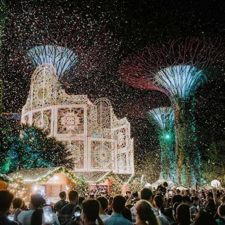 Gardens by the Bay: Christmas Wonderland and Poinsettia Wishes
