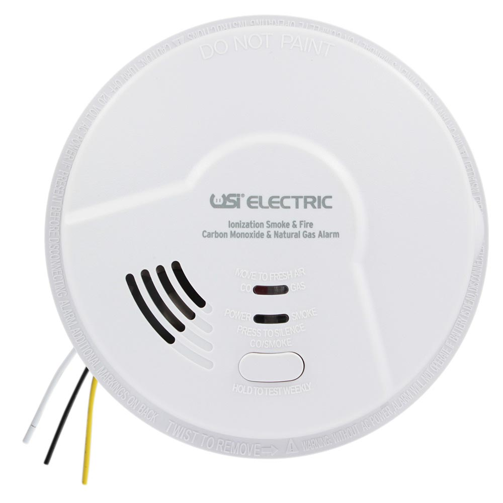 Usi Hardwired Smart Alarm With Smoke Fire Carbon Monoxide And Natural Gas Detection Mdscn111 Universal Security Store