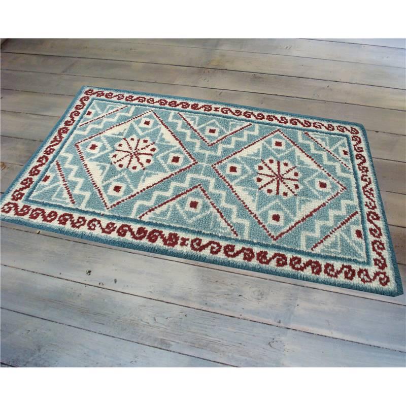 mosaique tapis au point noue smyrnalaine