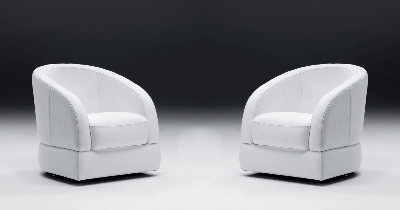 monique fauteuil cabriolet pivotant cuir