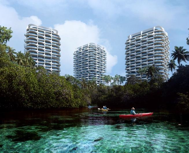 Zaha Hadid's Luxurious Residential Apartments