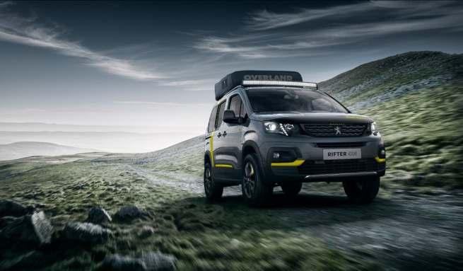Peugeot Rifter camper van