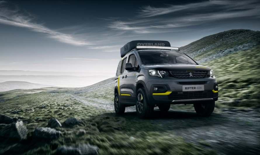 Peugeot floats Rifter concept Camper Van
