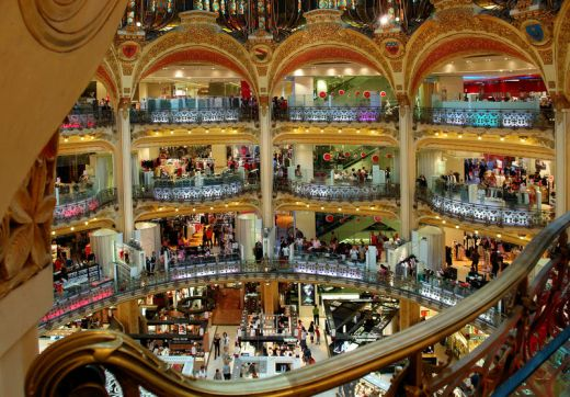 where to shop in paris france