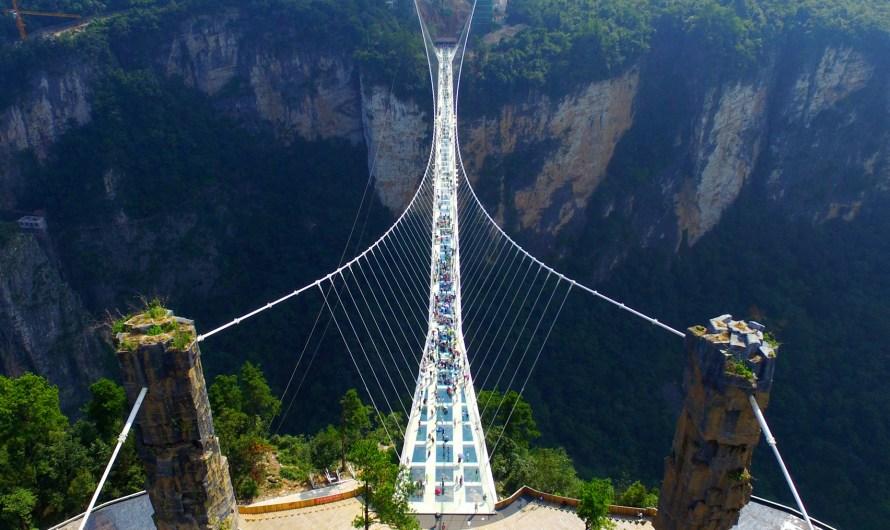 A visit to Zhangjiajie Glass Bridge China