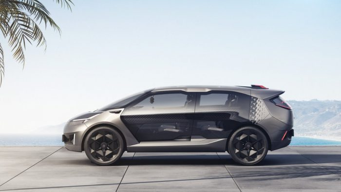 Chinese automaker GAC unveils Entranze EV in Detroit