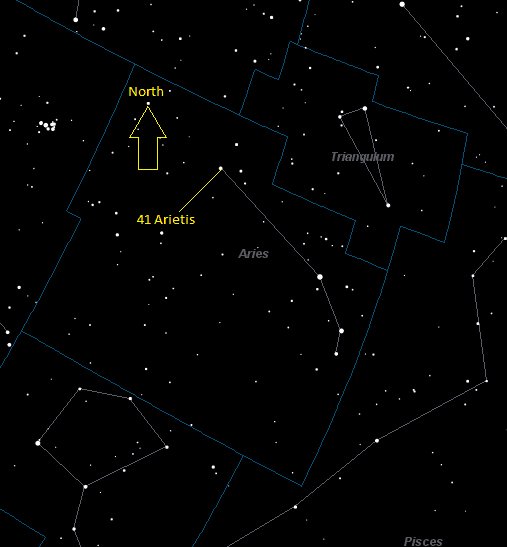 Bharani (41 Arietis) Star Facts - Universe Guide
