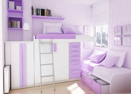 تصميم ديكورات غرف نوم اطفال صغيرة سحر الكون