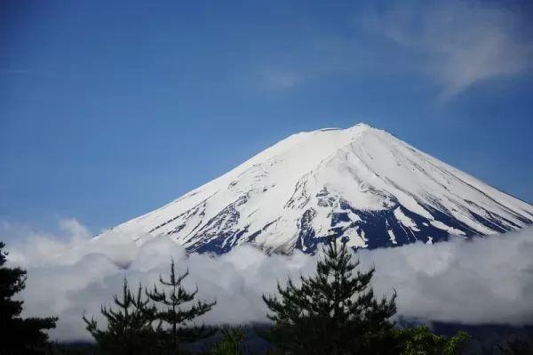 جبل فوجي من اجمل جبال العالم