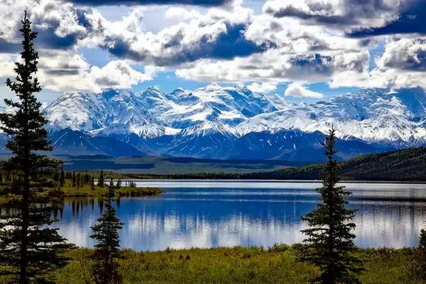 جبل دينالي من اجمل جبال العالم