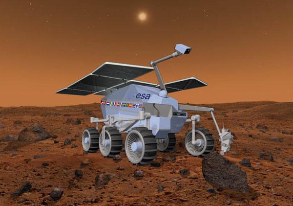 O Rover da ExoMars (www.universetoday.com)