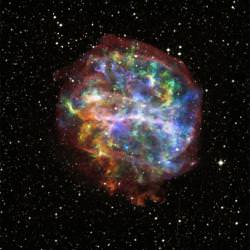 G292.0+1.8. Image credit: Chandra