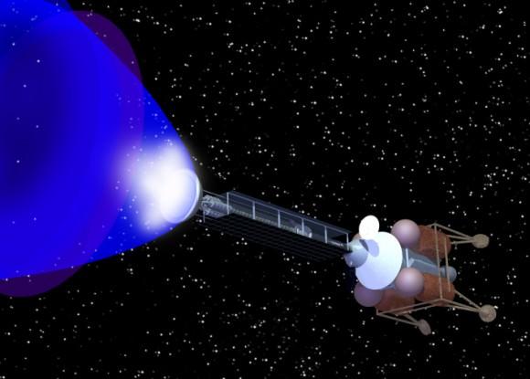 Antimatter rocket