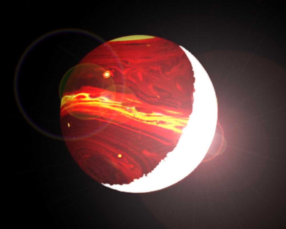 Hottest Ever Exoplanet Discovered: WASP-12b