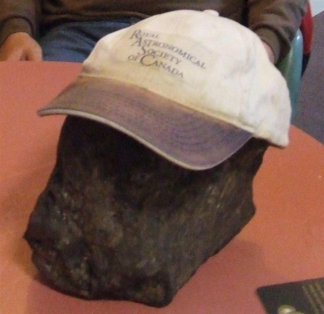 meteorite canadá