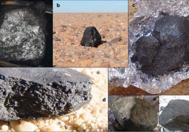meteoritos do 2008 TC3
