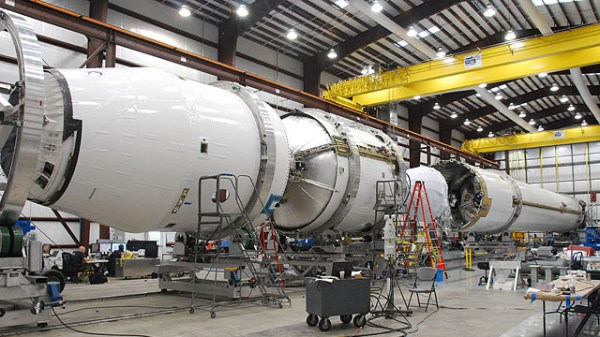 Falcon 9 Flight Hardware Arrives at Cape Canaveral ...