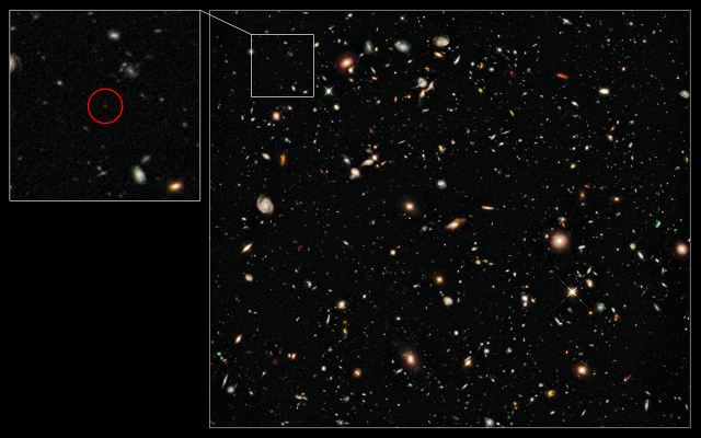 galaxia distante