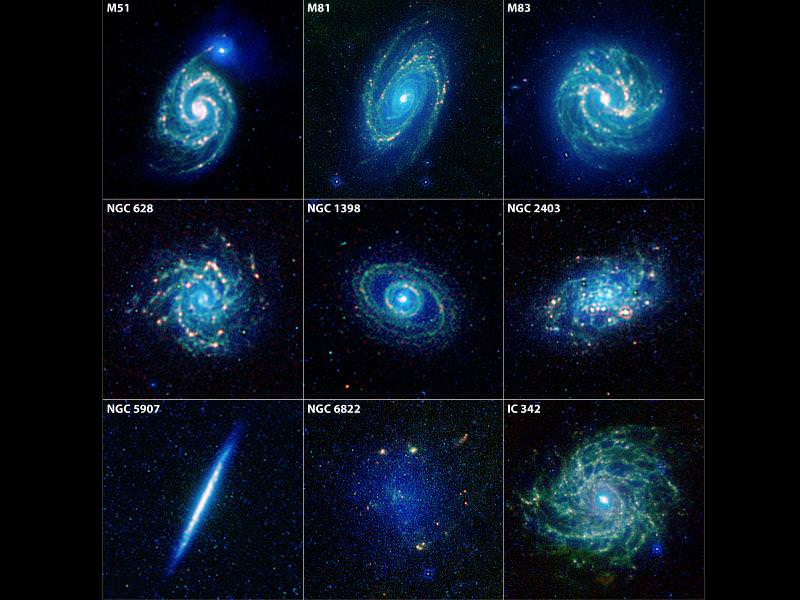 Galaxies in the Universe Names - Pics about space