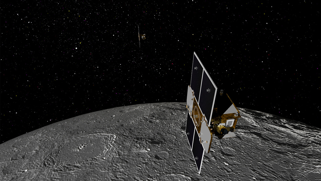 spacecraft in lunar orbit - photo #20