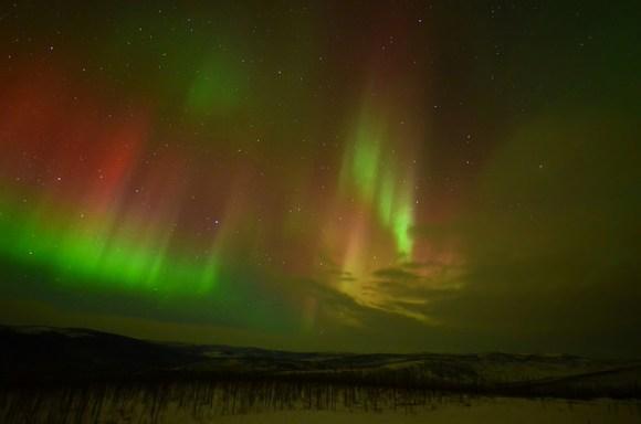 John O Groats Northern Lights