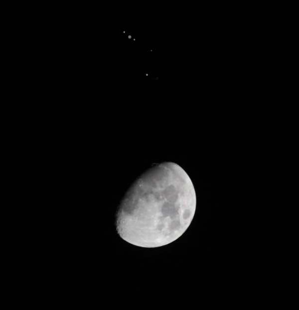 Astrophotos: Jupiter and the Moon Conjunction - Universe Today