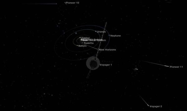 Fly Along With Voyager Universe Today