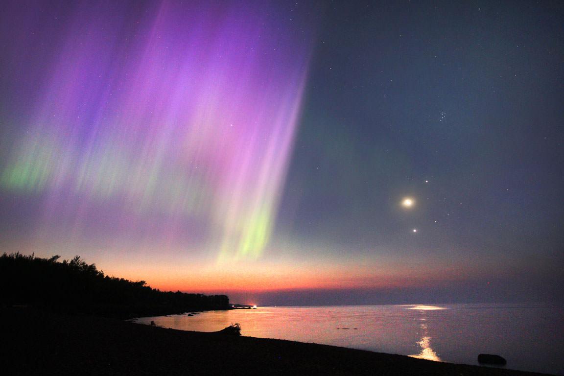 Northern Lights Jupiter