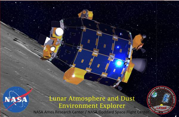 NASAs LADEE Lunar Probe Set for Spectacular Science and
