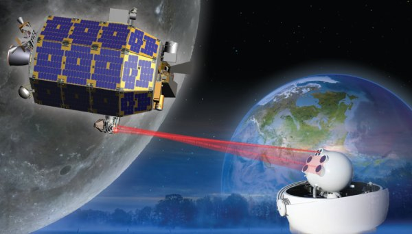 NASA Science Probe Blazes Spectacular Trail to the Moon