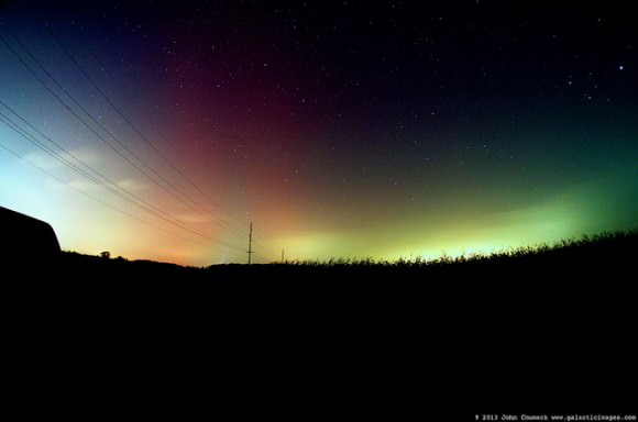 Northern Lights Alberta Tonight