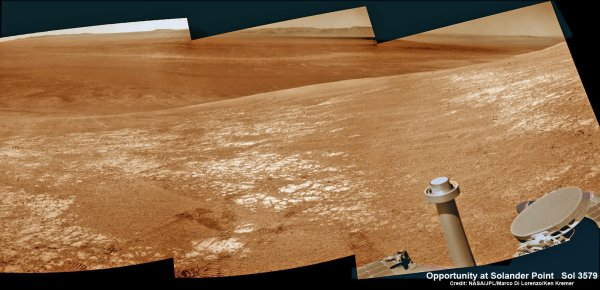 Mars Rover Opportunity Funding Ceases In 2015 Under NASA ...