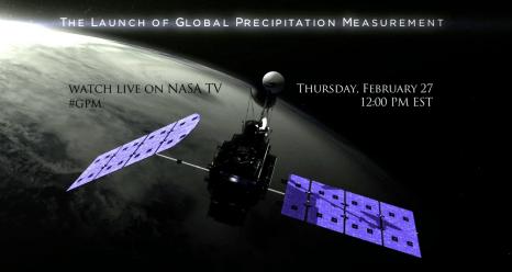NASA/JAXA Precipitation Measurement Satellite 'GO' for Feb ...