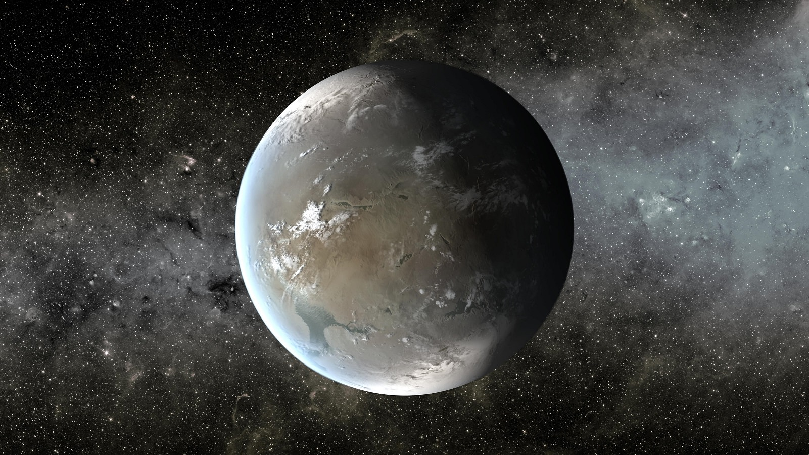 Kepler-62f, an exoplanet that is about 40% larger than ...