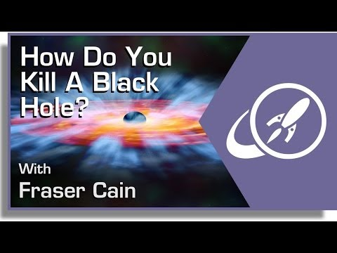 How Do You Kill a Black Hole Universe Today