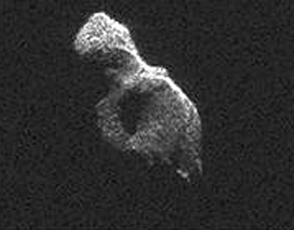 Awesome Radar Images Reveal Asteroid 2014 HQ124's Split ...