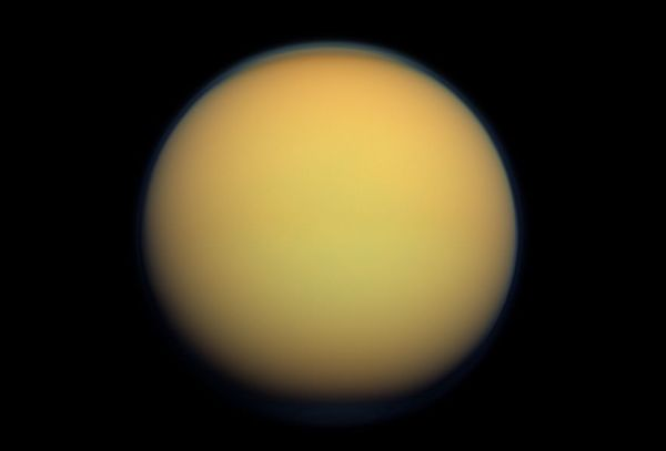 Titan's Atmosphere May be Older than Saturn, a New Study ...