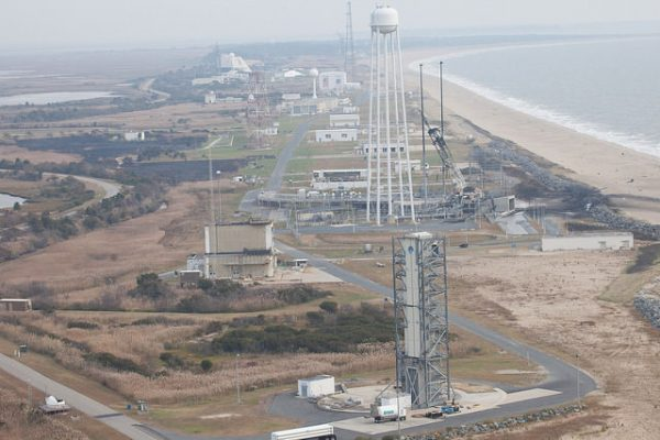 NASA Releases Photos of Aftermath of Launchpad Explosion ...